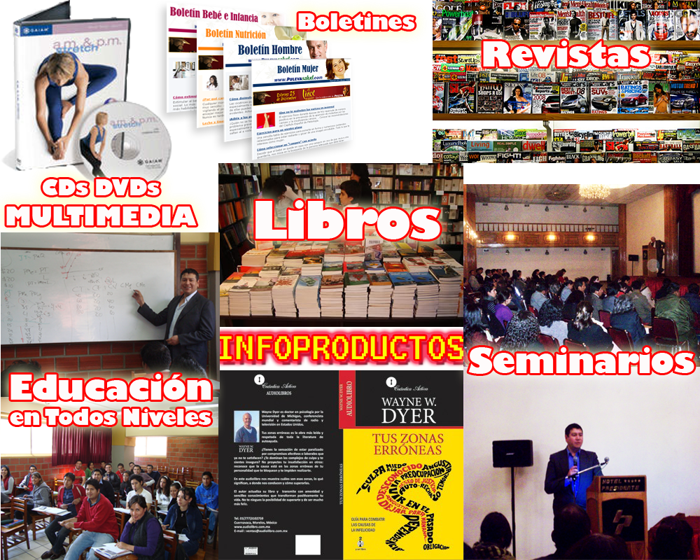 Ejemplos de Infoproductos